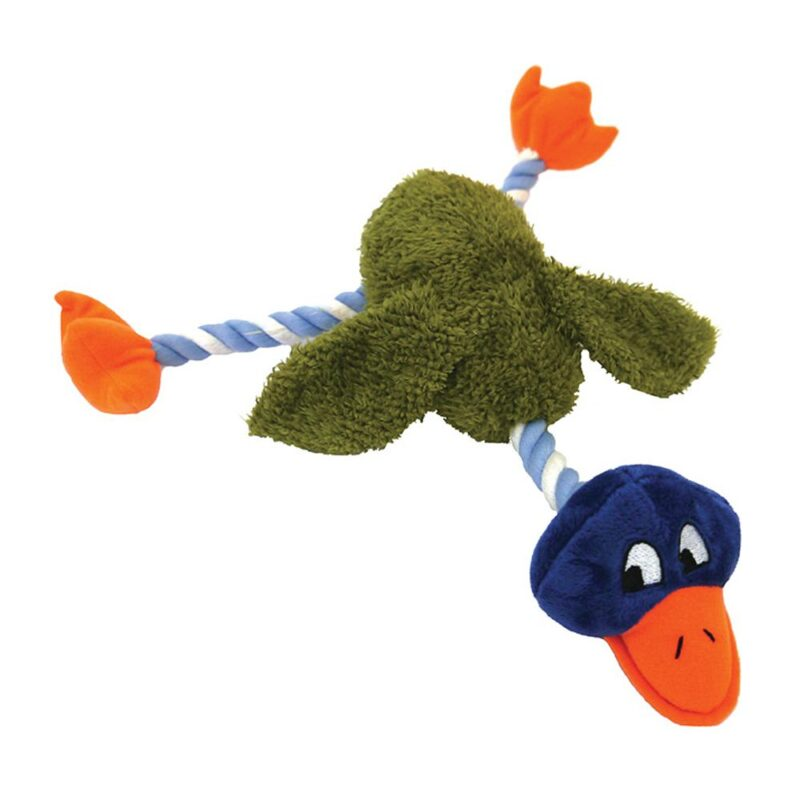 Rosewood Mr Twister Delia Duck Dog Toy