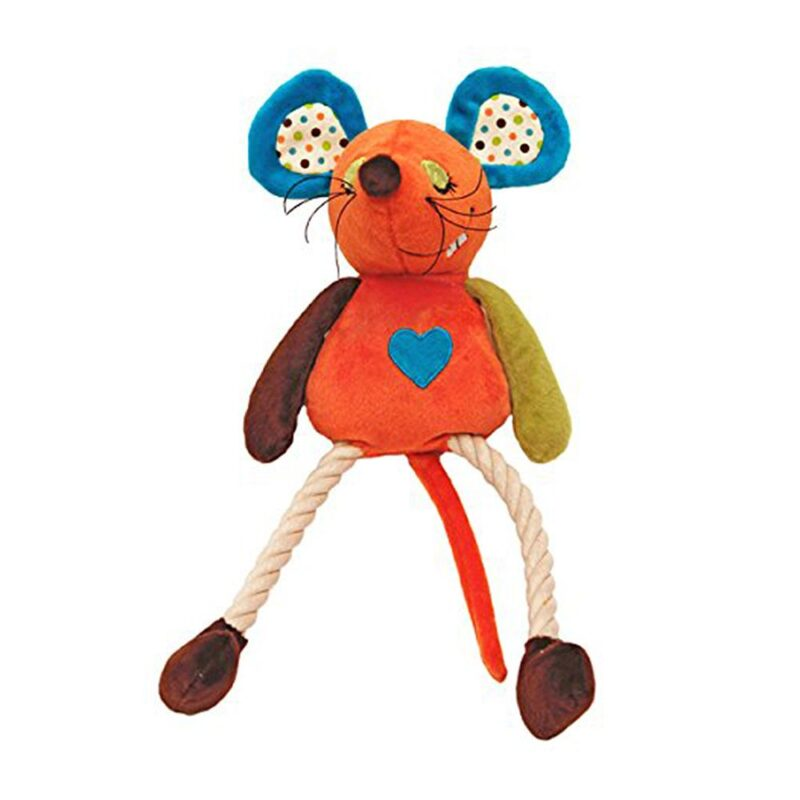 Rosewood Mr Twister Millie Mouse Dog Toy