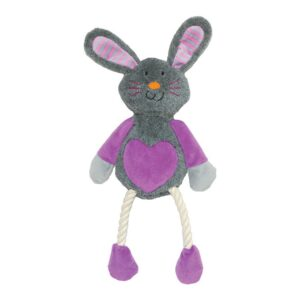 Rosewood Mr Twister Ruby Rabbit Dog Toy
