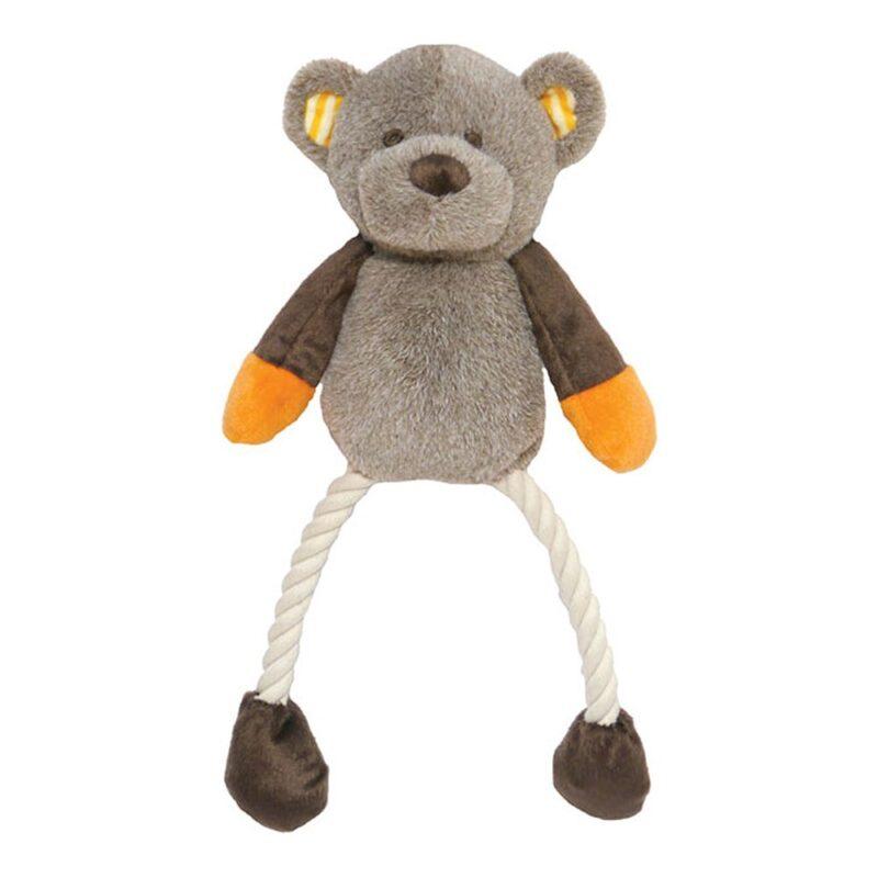 Rosewood Mr Twister Teddy Twister Dog Toy