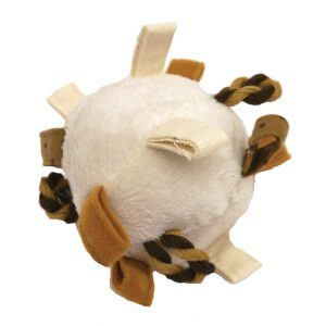 Rosewood Natural Nippers Loopy Fun Ball Dog Toy