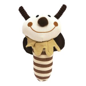 Rosewood Natural Nippers Shake & Rattle Dog Toy