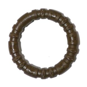 Rosewood Nylon Dog Chew Ring - Chocolate Large