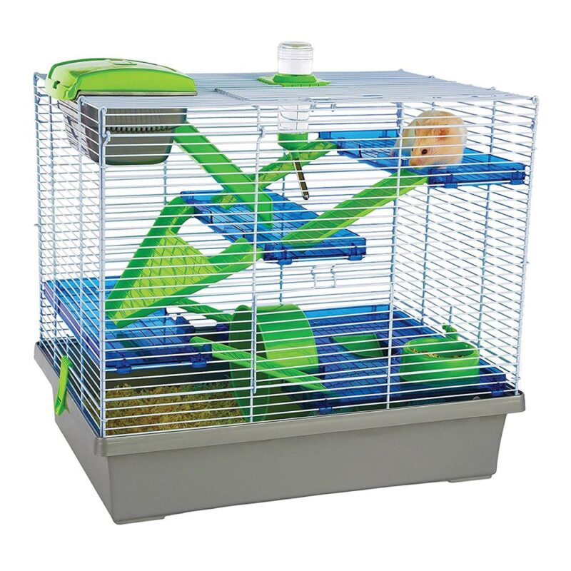 Rosewood Pico XL Hamster Cage - Silver