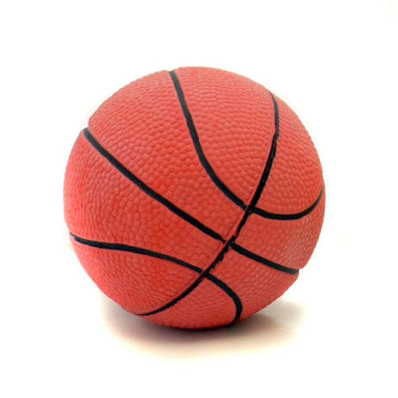 Rosewood Rubber Basketball Dog Toy