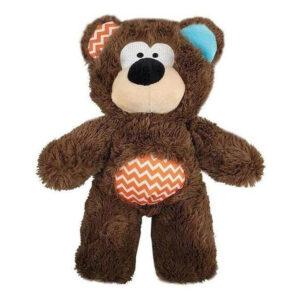 Rosewood Tough Plush Rope Core Bear Dog Toy