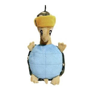Rosewood Tough Plush Turtle Dog Toy