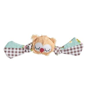 Sharples Hoot 'n' Fling Owl Dog Toy