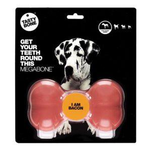 Tastybone Nylon Dog Chew Bone - Bacon Mega