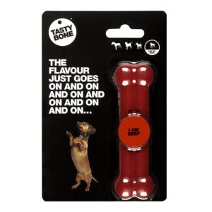 Tastybone Nylon Dog Chew Bone - Beef Toy
