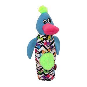 Tuffs Urban Crunchy Bottle Squeaky Dog Toy